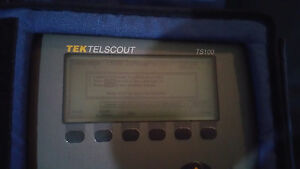 Tektronix Tek Telscout Ts100 Time Domain Reflectometer