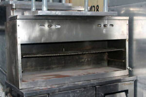 Cheesemelter By Jade Range 48in Wide Gas Cheese Melter