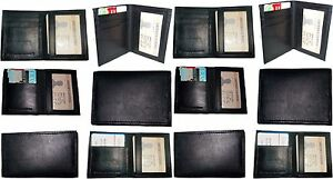 Lot Of 12 New Slim Business Credit Card Id Card Case Black 4 Card Holder Id Bnwt