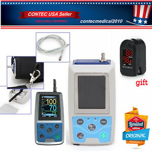 Usa Seller Ambulatory Blood Pressure Monitor Usb Software 24h Nibp Holter Abpm50