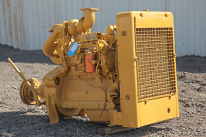 Caterpillar D3304 Ta Diesel Industrial Power Unit With Sp 114 1 Pto Clutch