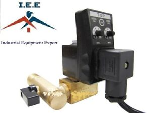 Automatic Electronic Air Compressor Tank Drain Valve