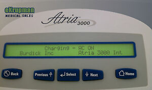 Burdick Atria 3000 Interpretive Ecg Ekg Machine Mint 10 Lead Patient Cable