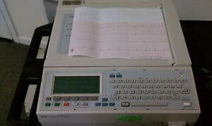 Phillips Hp Ekg System Pagewriter 200i Interpretive Tested With Accessories