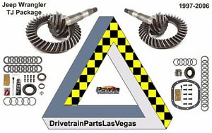 Package Dana 35 30 Jeep Ring And Pinion Gear Set Pkg With Mini Kits 3 73 Ratio