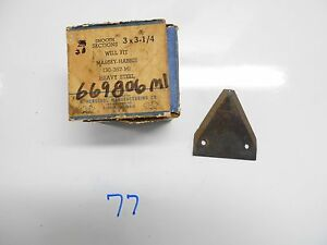 Nos M32209 Sickle Section Herschel I H Mccormick Deering 2 1 2 X 3 1 16 25pc