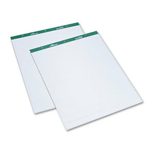 Tops Flip Chart Easel Pads 1 Quadrille 27 X 34 White 50 Sheets 2 Per Pack