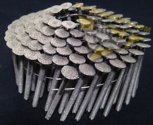 1 3 4 X 120 Ringshank 304 Stainless Steel Coil Roofing Nails 1800ct