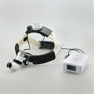 Led Medical Headlight Surgical Head Light Lamp 3 W Ac dc Kd 202a 3 Us Shipping