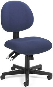 Medical Office Task Chair In Color Choice Fabric Clinic Receptionist Chair