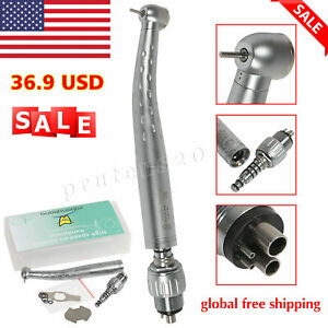 Dental Contra Angle E generator Led Slow Low Speed Push Button Handpiece 1 1