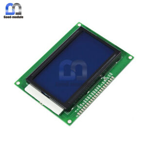 5v 12864 Lcd Display Module 128x64 Dots Graphic Matrix Lcd Blue Backlight Gm