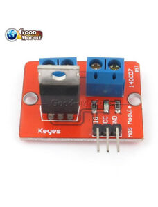 Top Mosfet Button Irf520 Mosfet Driver Module For Arduino Arm Raspberry Pi Gm