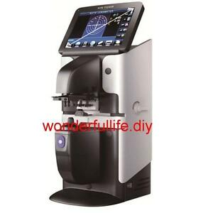 5 6 Big Touch Screen Optical Digital Auto Lensmeter Lensometer Pd Uv Printer
