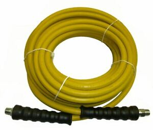 50 Foot Non marking Yellow Pressure Washer Hose 4000 Psi 50 Ft Length