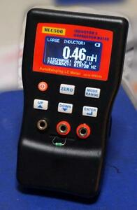 Autoranging Lc Meter 0 001uh To 100h 0 01pf To 100mf 1 Accuracy 5 digit