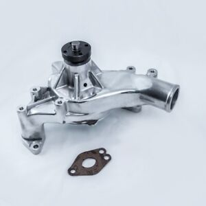 Tsp Ford Big Block Fe 352 390 428 Aluminum High Flow Water Pump Polished Hc8053p