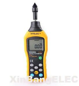 High Quality Ms6208a Contact type Digital Tachometer Meter 50 19999rpm