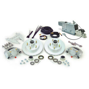 Boat Trailer Kodiak And Demco Disc Brake Kit Single Axle Drum To Disc Conversion