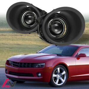 2014 2015 Chevy Camaro 3 6l V6 Clear Lens Projector Fog Light Lamp W Switch kit
