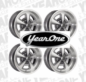 Yearone Rally Ii Wheels Set Of 4 17x 9 Gunmetal Gray