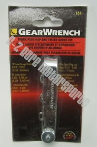 Gearwrench 164 6 Spark Plug Gap Wire And 12 Feeler Gauge Blades Made In Usa