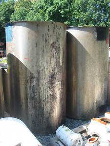 500 Gallon Perma san Ovf Open Top Stainless Steel Tank