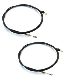 2 Snow Plow Joystick Control Cables new Style For Western 56035 Blade