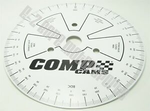 Comp Cams 4790 9 Sportsman Degree Wheel Accurately Measure Camshaft Setup