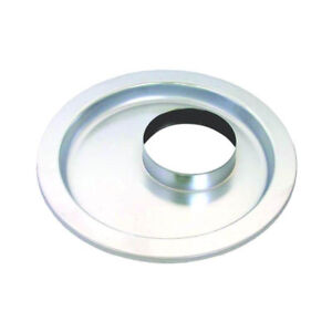 Bandit Accessories Air Cleaner Base 5195b Chrome Round 14 000 Flat Offset