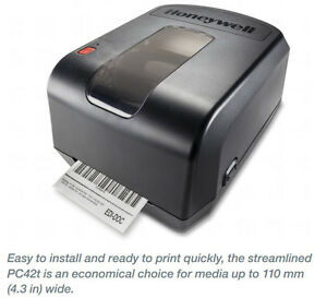 Honeywell Usb Bar Code Label Printer Pc42twe01012