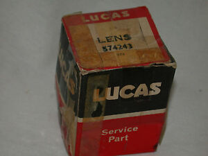 Lucas Clear Front Park Turn Lens Fits Mga