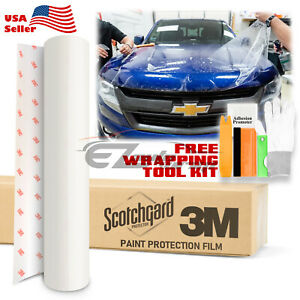 3m Scotchgard Hood Bumper Paint Protection Bra Clear Film Vinyl Wrap Decal 6