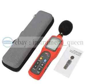Uni t Ut 351 Noise Sound Level Meter Tester 30 To 130db Free Shipping new