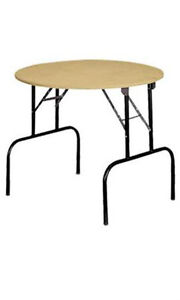 New Retails Round Display Table With Folding Legs 36 dia X 30 h