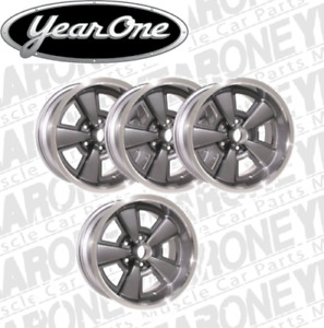 Z28 Yearone 5 Spoke Rally Wheels 17 X 9 Gunmetal Gray