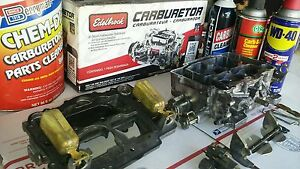 Rebuild Service For Edelbrock Afb Carburetor Carter Weber 90 Day Warranty
