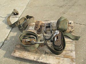 Adjustable Lifting Strap Assemblies 12 000 Pound Rated 1 Lot Of 5 Units Used