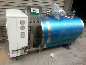 Brand New 5000l Horizontal Milk Cooling Tank Extras Factory Direct By Sea