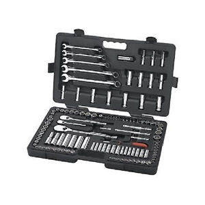 Gearwrench 83001d 118 Piece Socket Set 1 4 3 8 1 2 Sae Metric
