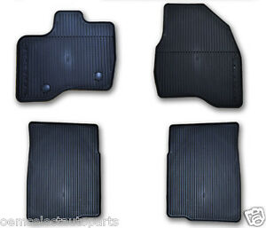Oem New 2015 2018 Ford Explorer All Weather Vinyl Floor Mats Rubber Catch All