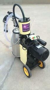 Electric Piston Milker Cows Free Extras Factory Direct 2 Year Warranty