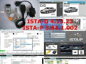 Bmw Dis V57 Sss Tis Inpa Wds Ista d Ista p Usb K dcan Enet Cables 20 Pin