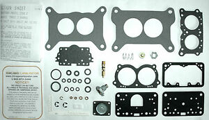 1969 71 Carburetor Kit Holley 2 Barrel Mopar Six Pack Center Or End Carbs New