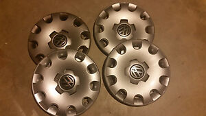 Vw Golf 2003 2007 15 Hubcap 4 Set