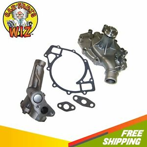 Water Oil Pump Fits 74 92 Ford E Series Vans Ranchero 7 5l V8 Ohv 16v Cu 460