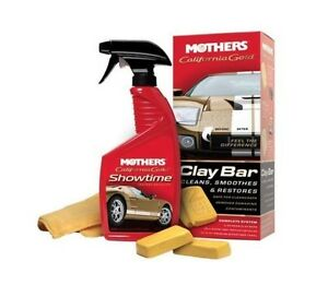 Mothers 07240 California Gold Clay Bar System Single Unit