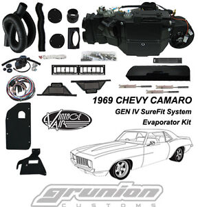 Vintage Air 1969 Chevy Camaro W O Ac Air Conditioning Evaporator Kit 561169