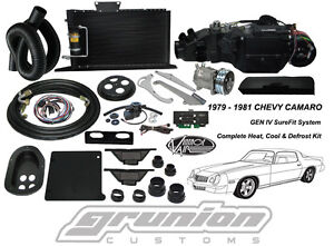 Chevy Camaro W Ac 1979 1981 Air Conditioning Defrost Heat Vintage Air Kit