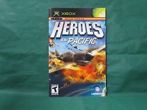 Heroes of the Pacific Manual for Xbox *MANUAL ONLY* $5.89